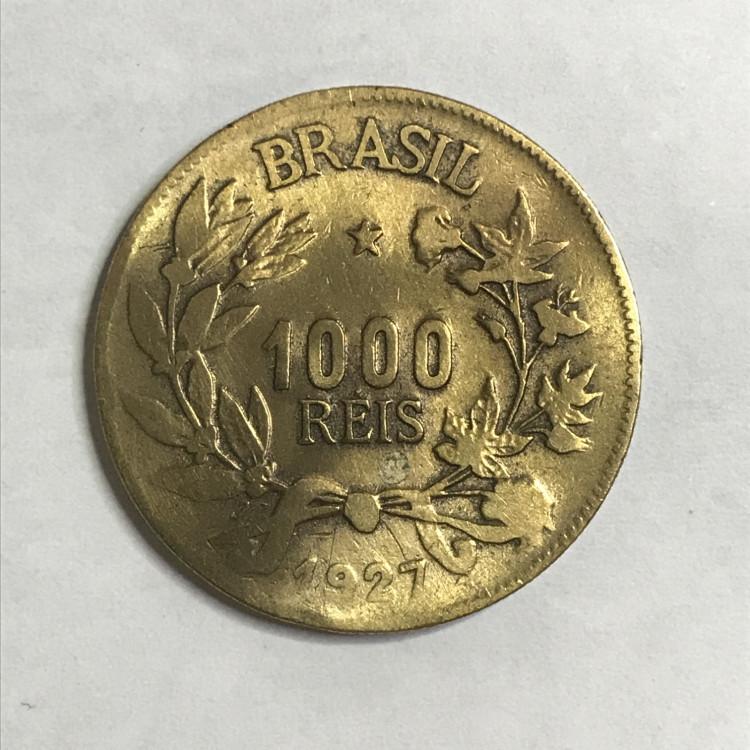 1000 reis 1927 MBC