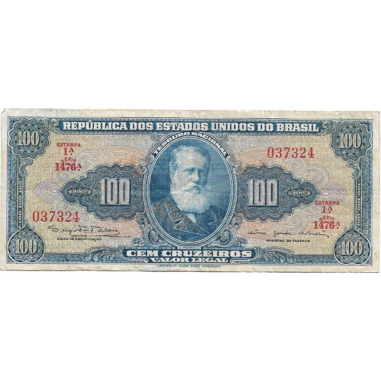 C036 1964 100 Cruzeiros SOB