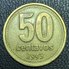 Argentina 50 centavos peso 1993 MBC