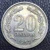 Argentina 20 centavos peso 1957 SOB