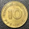 Alemanha 10 pfennig 1950 SOB