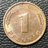 Alemanha 1 pfennig 1982 MBC/SOB