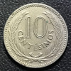 Uruguai 10 centesimos peso 1953 SOB