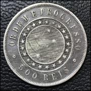 500 réis 1889 MBC/SOB