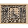 Austria Gross Siegharts 1920 20 heller FE