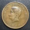 Mexico 5 centavos 1946 MBC