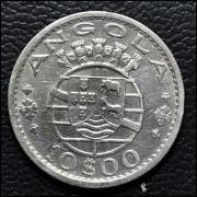 Angola 10 escudos 1955 SOB
