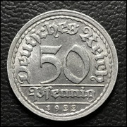 Alemanha 50 Pfennig  1922 SOB