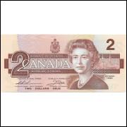 Canada 2 dollars 1986 FE