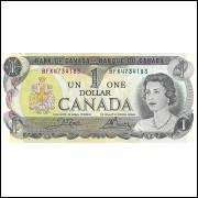 Canada 1 dollar 1973 FE