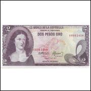 Colombia 2 pesos 1977 FE
