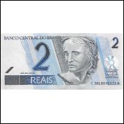 C268 2009 2 reais FE