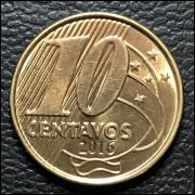 10 centavos Real 2016 SOB