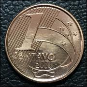 1 centavo 2004  SOB/FC