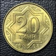 Casaquistão 20 tyin 1993 FE