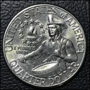 Estados unidos da América 25 cents  1976 FC 200th Birthday