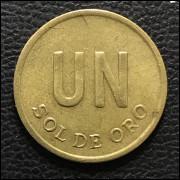 Peru 1 sol de oro1976 SOB