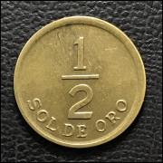 Peru 1/2 sol 1975 SOB